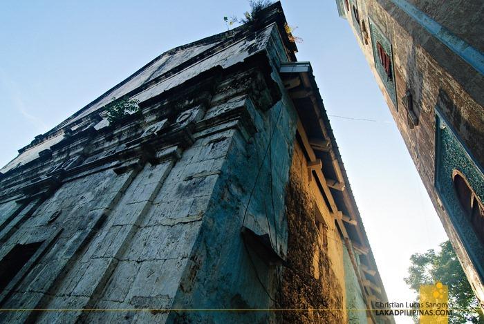 The Massive Walls of Poro Church