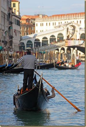 Gondola at Rialto
