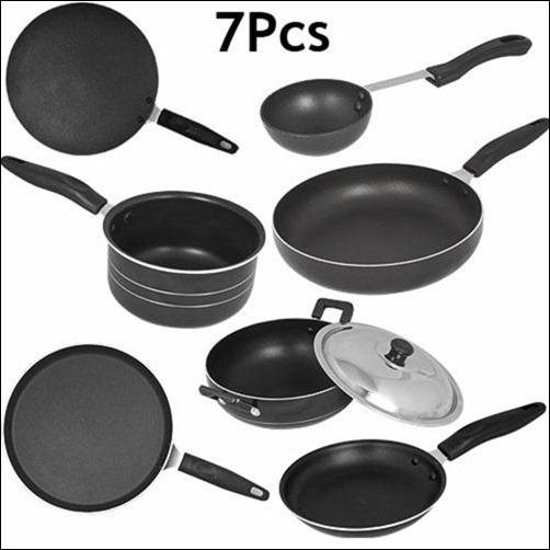 7-Piece- Non Stick Appliances