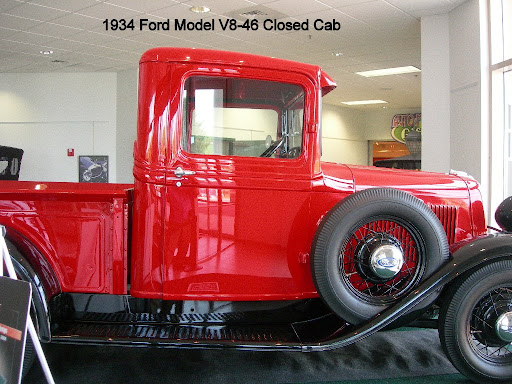 1934 Ford Model V8-46 Closed