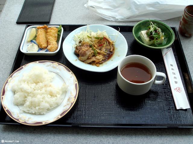 lunch in yoyogi park in Yoyogi, Tokyo, Japan