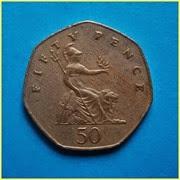 0.50 Libras Reinon Unido