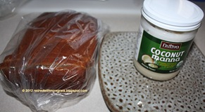 Cinnamon Dried Fruit Bread - trying with Coconut Manna II B