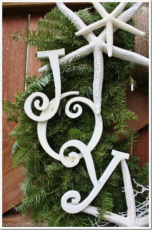 Coastal Holiday Wreath