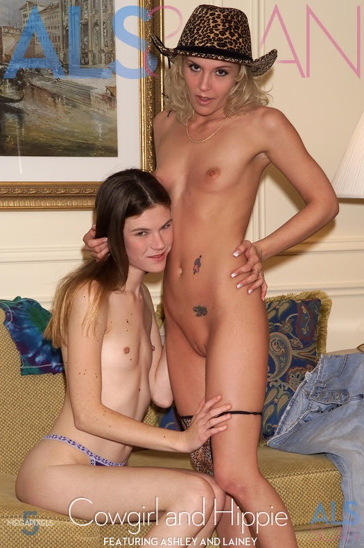 [Nakety] Ashley, Lainey - Cowgirl and Hippie