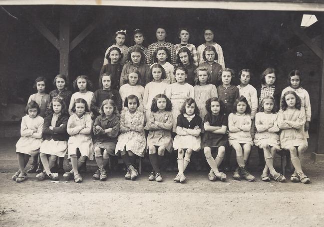 école filles année inconnue