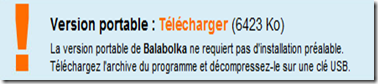 Télécharger la version Portable de Balabolka