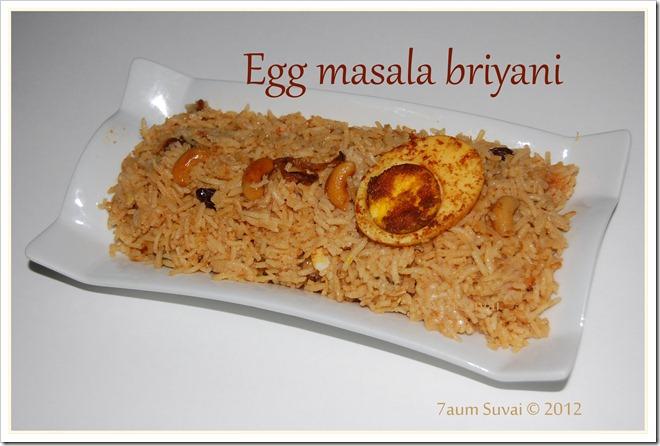 EggMasalaBriyani