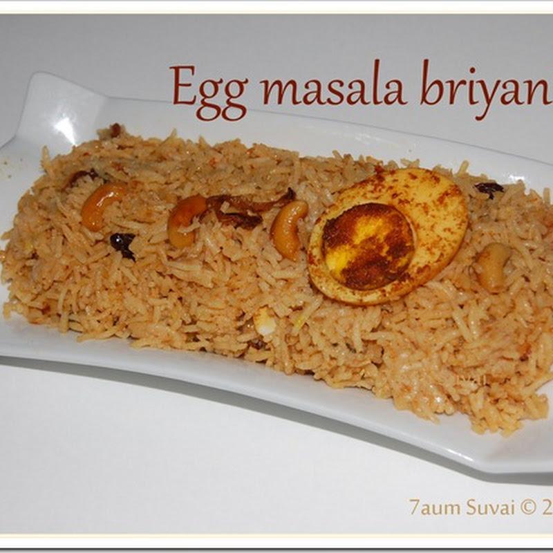 Egg masala dum briyani / முட்டை மசாலா தம் பிரியாணி