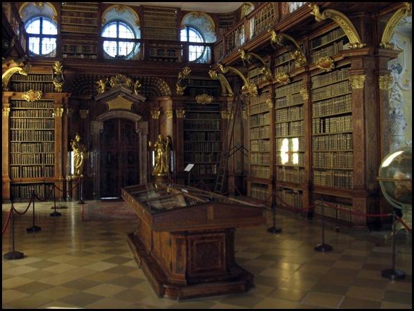 Bibliothèque du monastère de Melk, Melk, Autriche -3