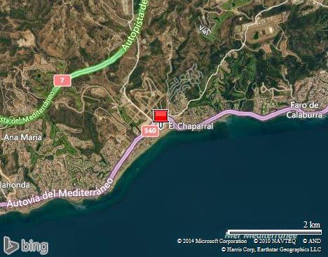 la Cala de Mijas (ouest de Fuengirola)