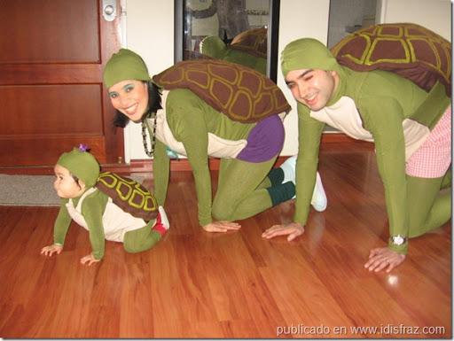 Disfraz de tortuga en foami - Imagui