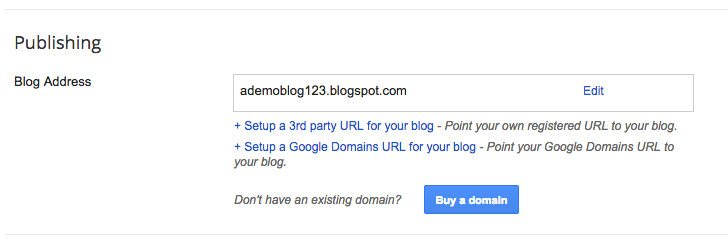 blogger domains screenshot
