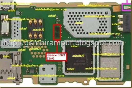 Nokia 2690 Keypad solution.