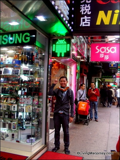 Shopping & Sightseeing in  Hong Kong