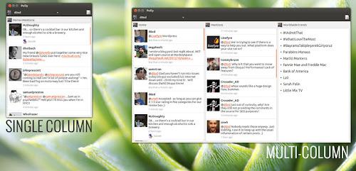 Polly Twitter Client su Ubuntu