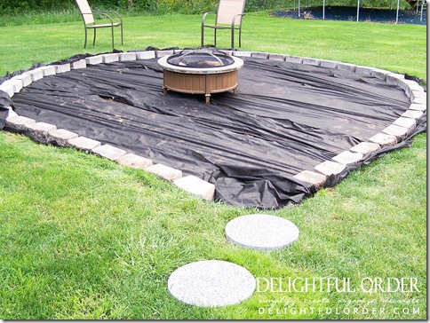 Delightful Order Creating A Backyard Fire Pit