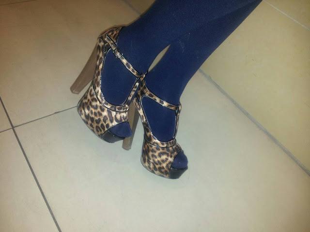 STREET STYLE | MERZEDEZ, leopard  print shoes