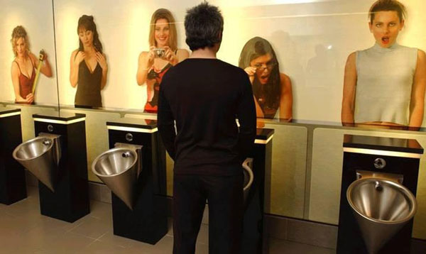 The Ego Boost Urinal
