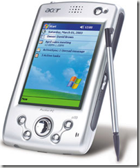type of computer PDA