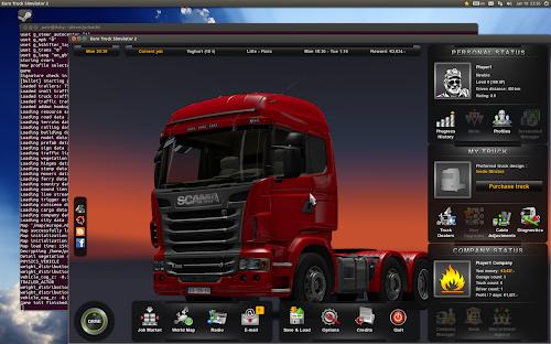 Euro Truck Simulator 2 in Linux