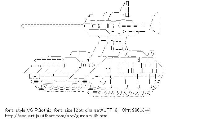 ガンダム,マゼラ・アタック,戦車