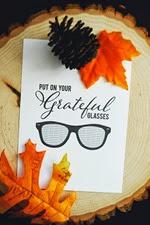 Pen n Paper Flowers - grateful Glasses