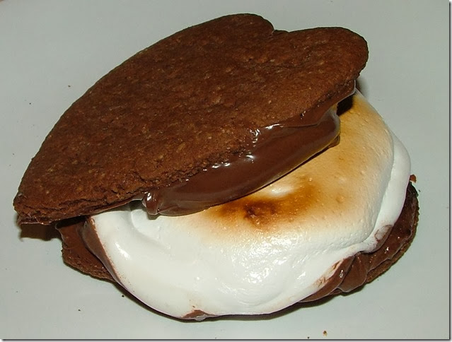 Chocolate Graham Cracker Nutella S'mores