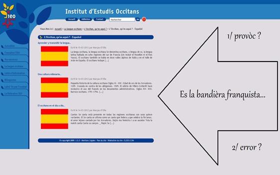 IEO es bandièra espanhòla