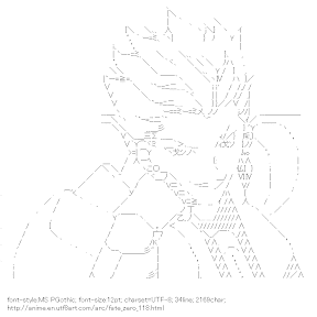 [AA]Gilgamesh (Fate/zero)