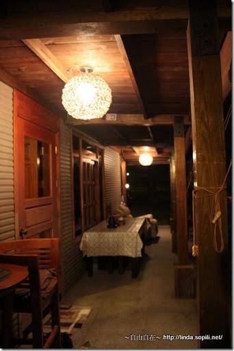 宜蘭三星樂狗堡-後院走廊