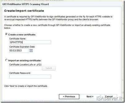 HTTPSi Certificate