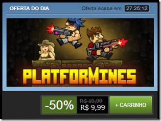 Platformines na promoção do dia Steam