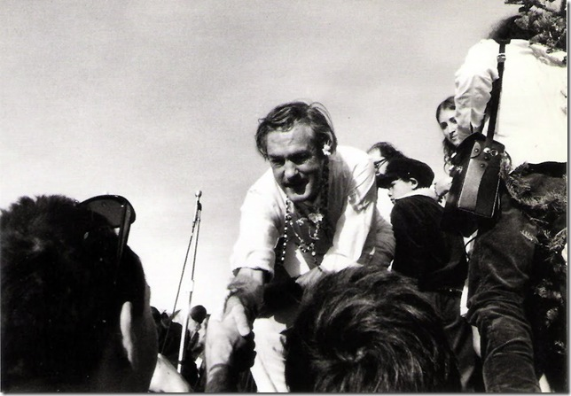 Dennis Hopper. Courtesy Tony Shafrazi Gallery. Timothy Leary. Photographie 1961-67.