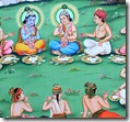 Krishna with friends