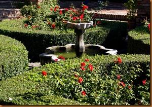 Malaga, alcazabar garden