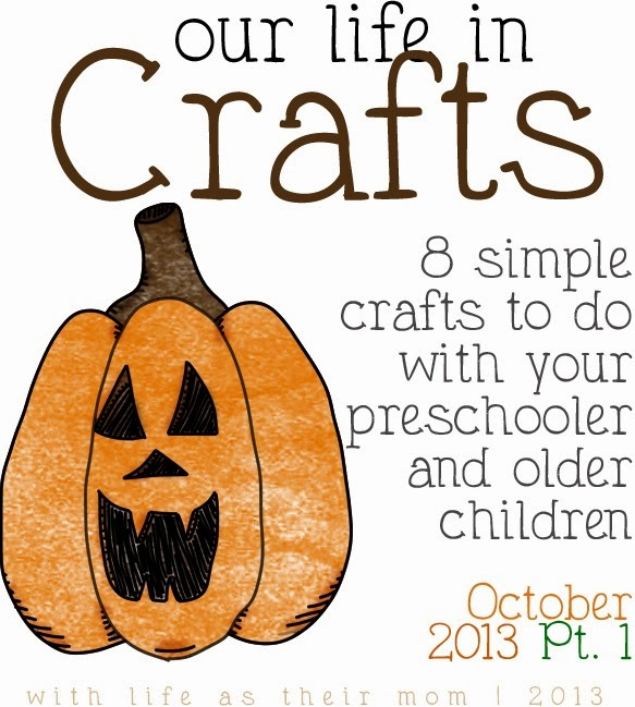october crafts - life as their mom