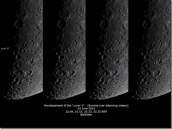15 June 2013 Lunar X