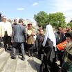 Святейший Патриарх Кирилл совершил освящение памятника священномученику Ермогену у стен Московского Кремля 25.05.2013