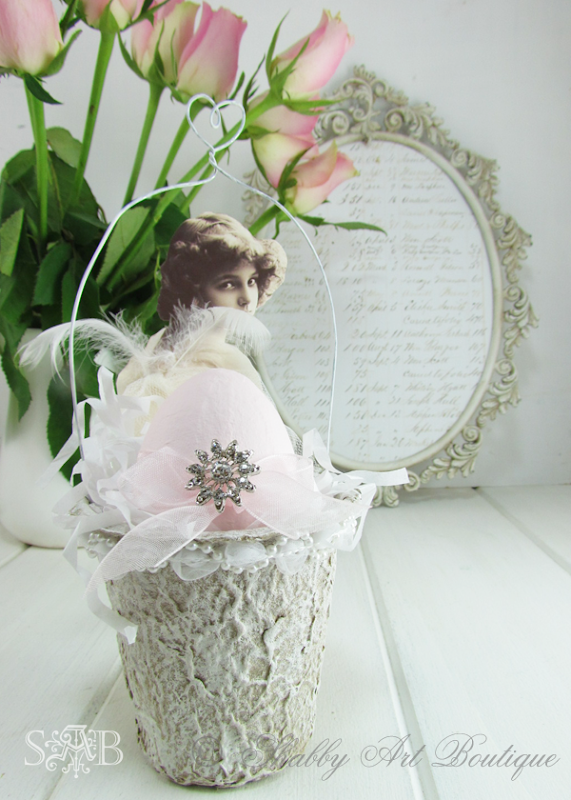 Shabby Art Boutique Easter Basket 3