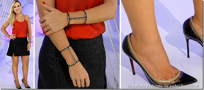 moda do programa aliana - eliana dia 06 de julho de 2014