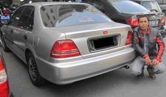 Honda City Z VTTEC AT 2000 penampakan