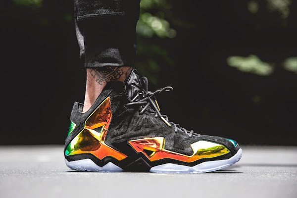 Nike LeBron 11 EXT Crown Jewel OnFoot amp Release Date