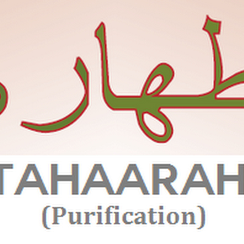 The Importance of Purification (Tahaara)