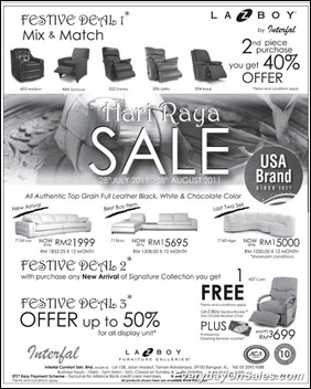 Lazy-Boy-Festive-Deal-Mix-And-Match-sales-2011-EverydayOnSales-Warehouse-Sale-Promotion-Deal-Discount