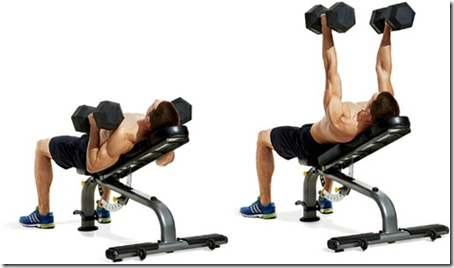Incline Dumbbell Bench Press Neutral Grip Incline Neutral Grip Bench