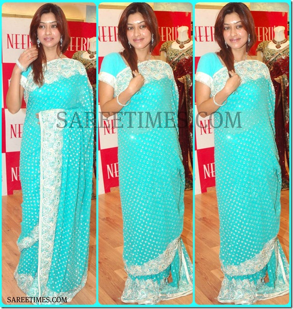 Harika_Payal_Blue_Designer_Saree