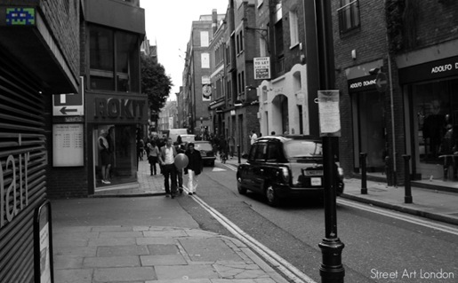 Invader Street Art London