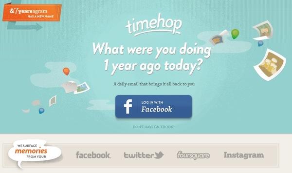 Timehop top