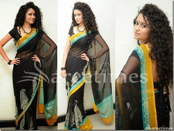 Soumy_Sukumar_Black_Georgette_Saree